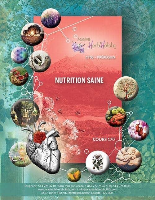 CT00-170 Cours Nutrition Saine