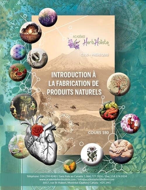 CT00-180 Introduction à la fabrication de produits naturels