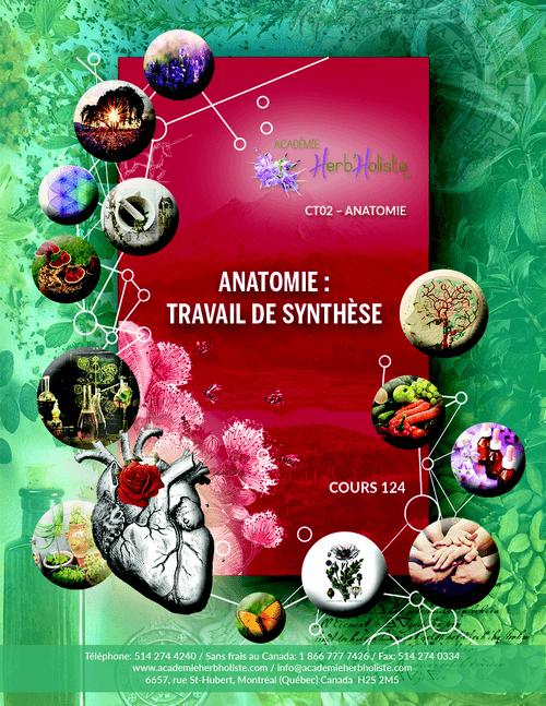 CT02-124 Cours Anatomie travail de synthèse